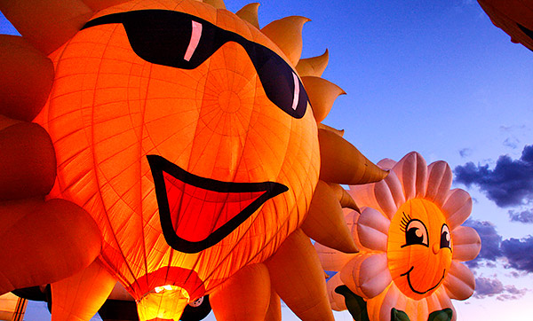Albuquerque balloon fiesta photo tour image