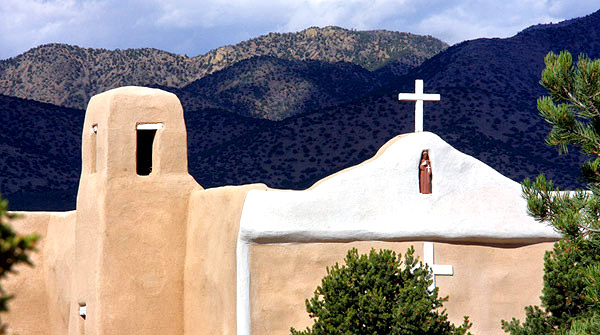 San Francisco de Asis Catholic Church, Golden, New Mexico