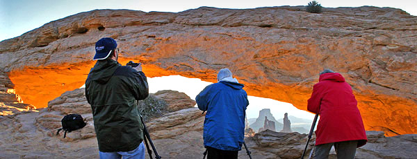 Clients participating in Travel Images photo tours