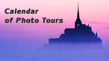 Calendar of photo tours