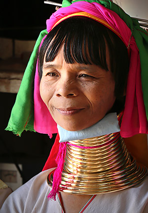 Photo of the Myanmar faces and places